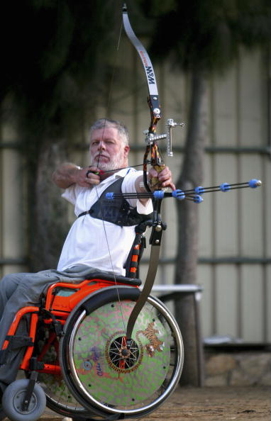 Practicing「Israeli Paralympic Team Go Through Final Training For Athens」:写真・画像(8)[壁紙.com]