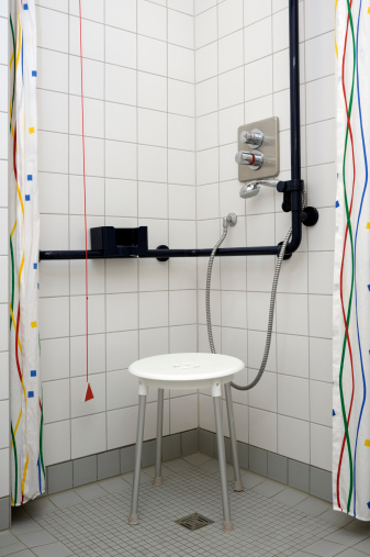 Physical Disability「Handicapped accessible shower」:スマホ壁紙(10)