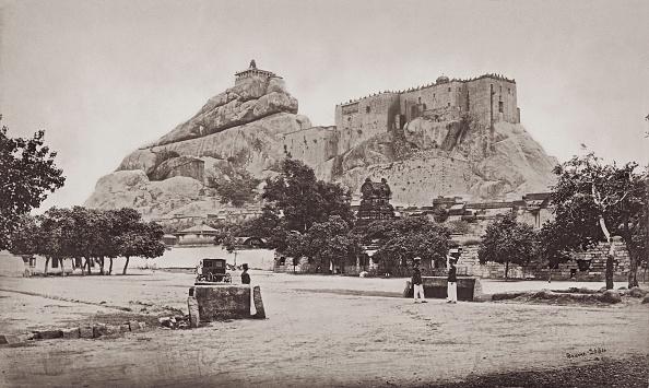 Tamil Nadu「Rock Of Trichinopoly」:写真・画像(0)[壁紙.com]