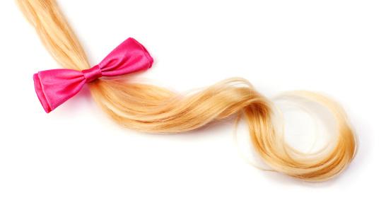 剛毛「ブロンドの髪に hairbow」:スマホ壁紙(7)