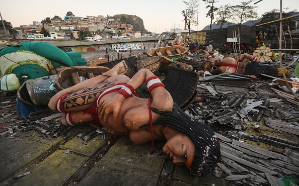 Carnival - Celebration Event「RIo Carnival Floats Warehouse Gutted by Fire」:写真・画像(16)[壁紙.com]
