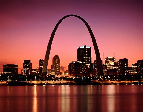 St「Gateway Arch, St. Louis, Missouri」:スマホ壁紙(8)