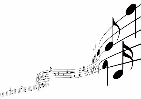 Illustration「3 d 楽譜」:スマホ壁紙(11)