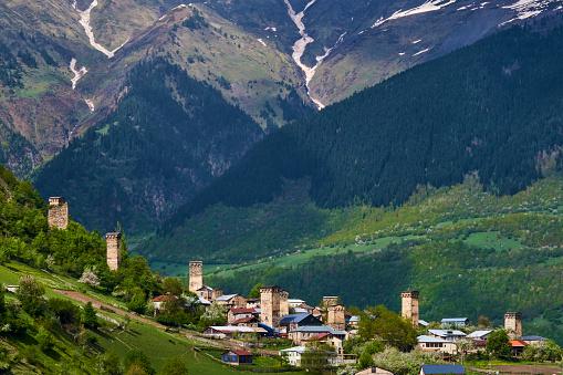 UNESCO「Georgia, Svaneti, Mestia」:スマホ壁紙(5)