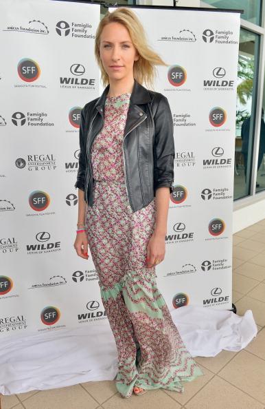 Leather Jacket「Sarasota Film Festival 2013 - Red Carpet For Tribute Luncheon」:写真・画像(13)[壁紙.com]