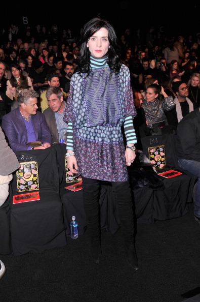 Stephen Lovekin「Anna Sui - Front Row - Mercedes-Benz Fashion Week Fall 2014」:写真・画像(14)[壁紙.com]
