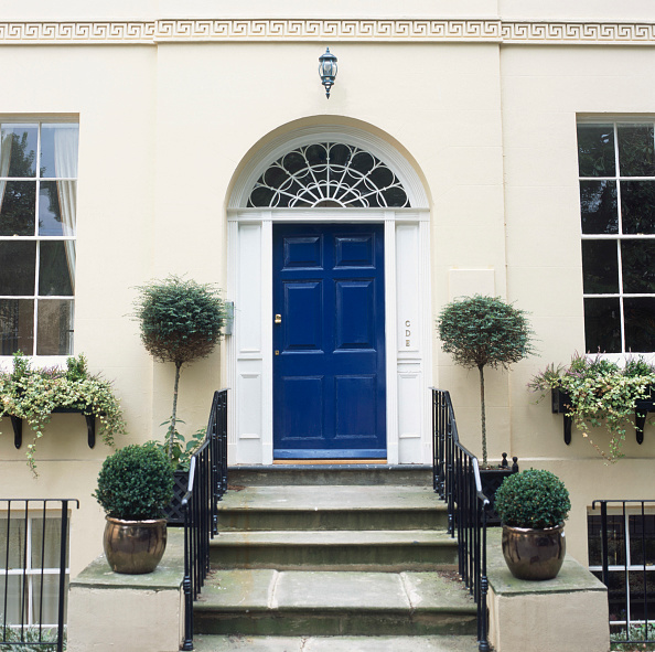 Door「Old Georgian house refurbished, Cheltenham」:写真・画像(11)[壁紙.com]