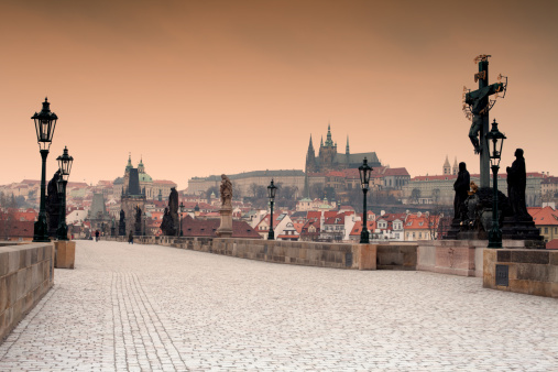 Charles Bridge「Prague」:スマホ壁紙(14)