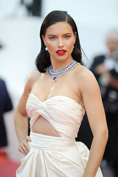 "Adriana Lima「""Burning (Beoning)"" Red Carpet Arrivals - The 71st Annual Cannes Film Festival」:写真・画像(11)[壁紙.com]"