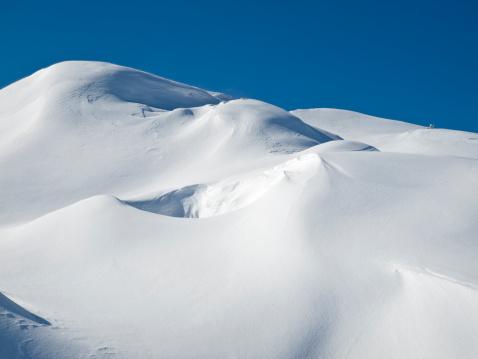 European Alps「Snowdrift」:スマホ壁紙(9)