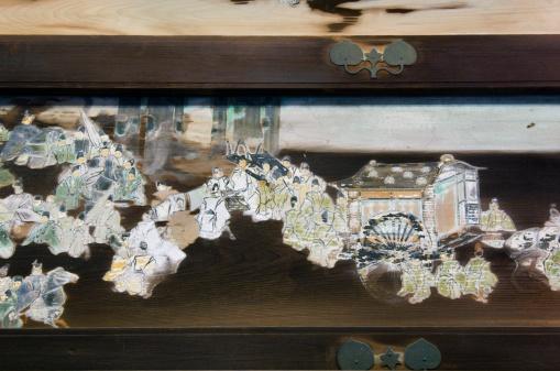 Karin「Old paintings at Shimogamo shrine, close-up」:スマホ壁紙(19)