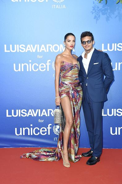Thigh High Slit「Unicef Summer Gala Presented by Luisaviaroma – Photocall」:写真・画像(9)[壁紙.com]