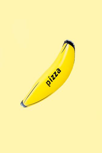 Conceptual Realism「Pizza Banana」:スマホ壁紙(15)