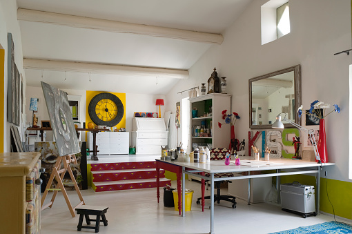 Art「Artist's house in Provence, France」:スマホ壁紙(18)