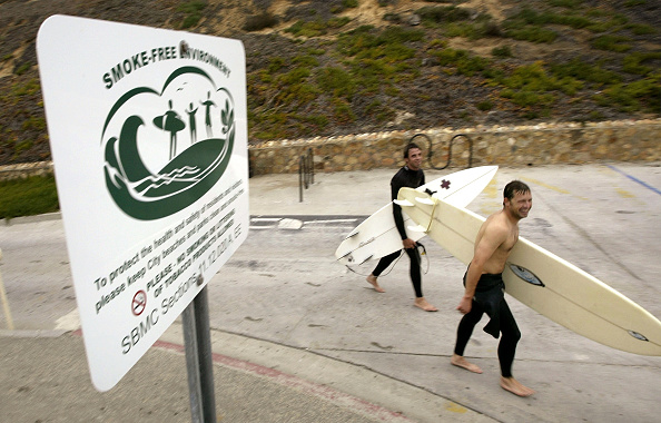 No Smoking Sign「Smoking Ban Proposed On Some California Beaches」:写真・画像(2)[壁紙.com]