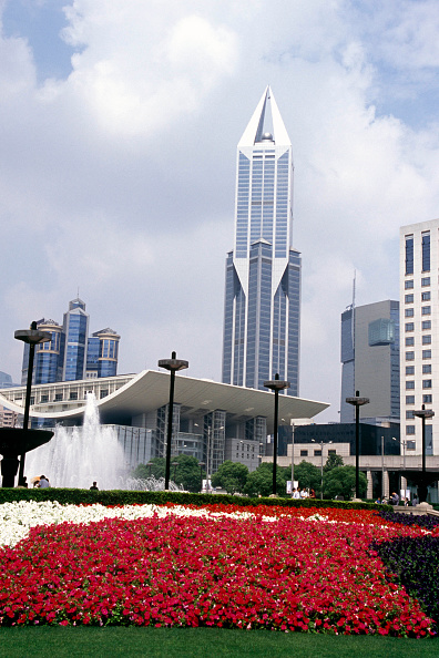 Development「The Tomorrow Mansion by the Shanghai City Hall, Shanghai, China 2003.」:写真・画像(12)[壁紙.com]