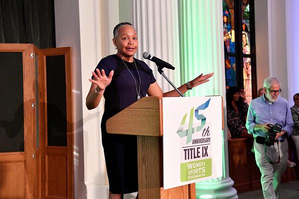バスケットボール「Women's Sports Foundation 45th Anniversary Of Title IX Celebration」:写真・画像(7)[壁紙.com]