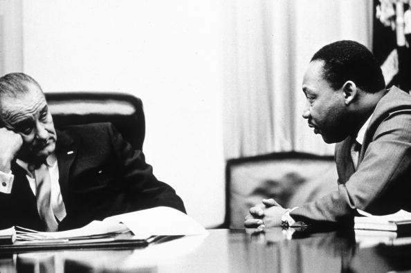 Human Rights「LBJ & MLK」:写真・画像(1)[壁紙.com]