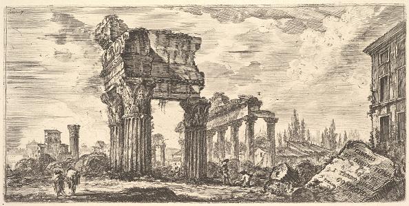 Deterioration「Plate 7: Temple Of Jupiter Tonans (Jupiter The Thunderer) 1 Temple Of Concord (Temp」:写真・画像(5)[壁紙.com]
