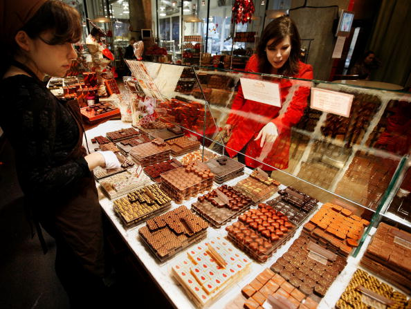 Sweet Food「Chocolatiers Sell Sweet Treats For Valentines Day」:写真・画像(2)[壁紙.com]