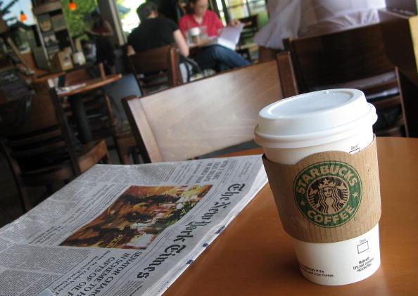 Coffee - Drink「Starbucks Posts First Quarterly Loss Since 1992」:写真・画像(13)[壁紙.com]