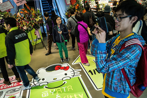 Lam Yik Fei「The World's First Hello Kitty Supermarket Opens In Hong Kong」:写真・画像(12)[壁紙.com]