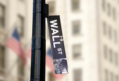 Trading「Hanging Wall Street Sign」:スマホ壁紙(13)