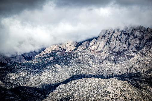 Sandia Mountains「Snow Dusted Sandia Mountains」:スマホ壁紙(0)