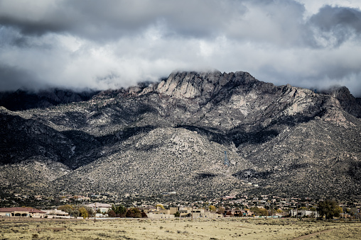Sandia Mountains「Snow Dusted Sandia Mountains」:スマホ壁紙(19)