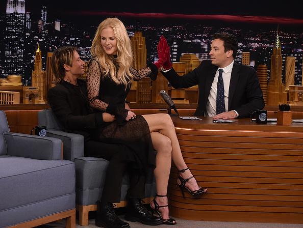 ニコール・キッドマン「Nicole Kidman Visits 'The Tonight Show Starring Jimmy Fallon'」:写真・画像(11)[壁紙.com]