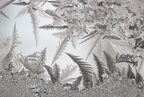Salzkammergut「Austria, Window covered with Ice crystal, close up」:スマホ壁紙(19)