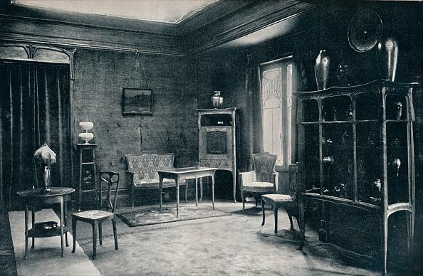 Art Nouveau「'A drawing-room by E. Colonna', 1900. Artist: Unknown.」:写真・画像(3)[壁紙.com]