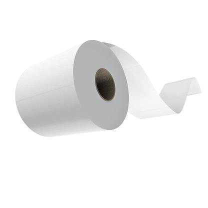 Mid-Air「roll of toilet paper flying」:スマホ壁紙(2)