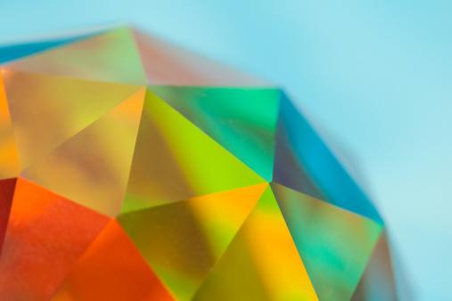 Prism「Prismatic Faceted Crystal Sphere, Color Spectrum」:スマホ壁紙(8)