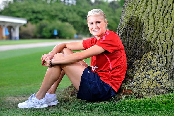 Women's Soccer「Steph Houghton Portrait」:写真・画像(17)[壁紙.com]