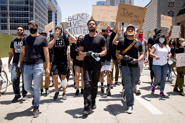 Hollywood - California「Hollywood Talent Agencies March To Support Black Lives Matter Protests」:写真・画像(19)[壁紙.com]