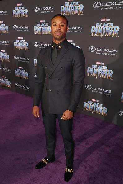 Black Shirt「World Premiere of Marvel Studios' Black Panther, presented by Lexus」:写真・画像(5)[壁紙.com]