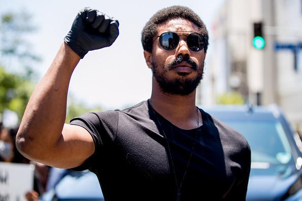 Michael Jordan「Hollywood Talent Agencies March To Support Black Lives Matter Protests」:写真・画像(5)[壁紙.com]
