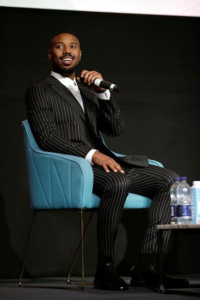 The Times BFI London Film Festival「Screen Talk: Michael B Jordan - 63rd BFI London Film Festival」:写真・画像(14)[壁紙.com]