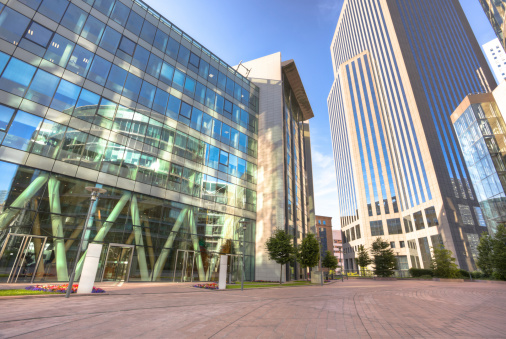 Office Park「La Defense financial district」:スマホ壁紙(2)
