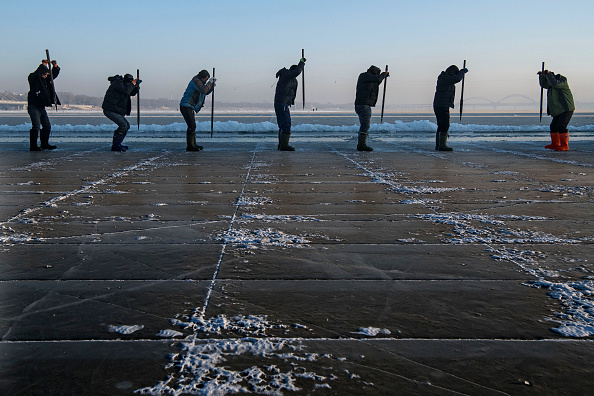 Harbin「Workers In China Prepare For World's Largest Ice Festival」:写真・画像(15)[壁紙.com]