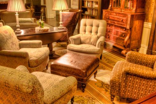 Lighting Equipment「Formal Living room, antique luxury style - III」:スマホ壁紙(9)