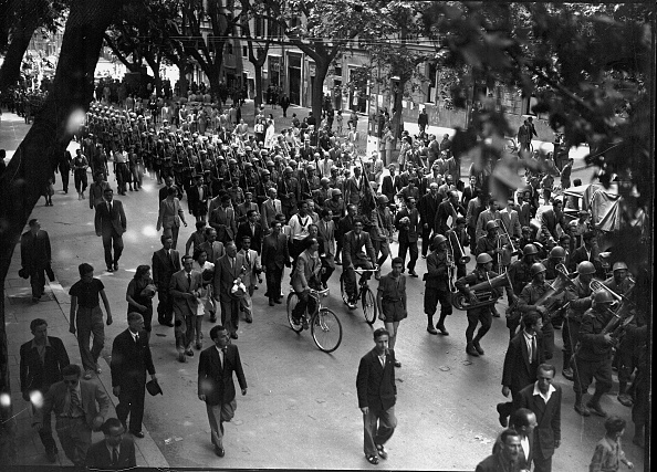 Celebration「Italian soldiers in Via del Tritone the day of Liberation of Rome, Rome 1944」:写真・画像(2)[壁紙.com]