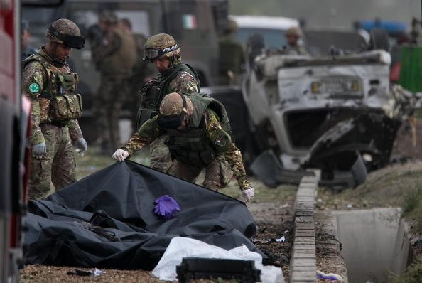 Kabul「Massive Kabul Car Bomb Targets Italian Troops Killing Sixteen」:写真・画像(6)[壁紙.com]