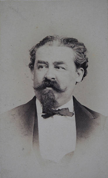 Mr. Kohn Of The Bureau Of The Austrian Mansion / Chief Of The Stenographers. About 1865. Photograph By F. Wendling. Vienna [Prater Street No. 10]:ニュース(壁紙.com)