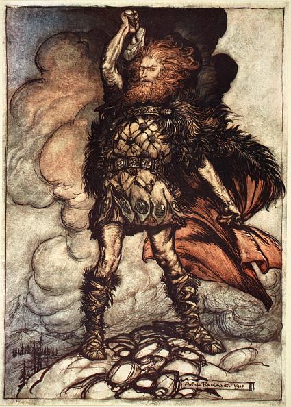 God「One Of The Gods Donner Summons The Mist Away' 1910」:写真・画像(8)[壁紙.com]