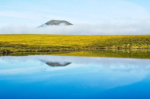 Yukon「Water and mist in Canada's arctic, Yukon Territory.」:スマホ壁紙(16)
