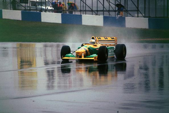 Benetton「Benetton B193A Ricardo Patrese 1993 Euro GP at Donington」:写真・画像(17)[壁紙.com]
