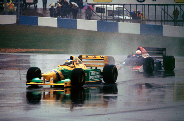 Benetton「Benetton B193A Michael Schumacher 1993 Euro GP at Donington」:写真・画像(5)[壁紙.com]