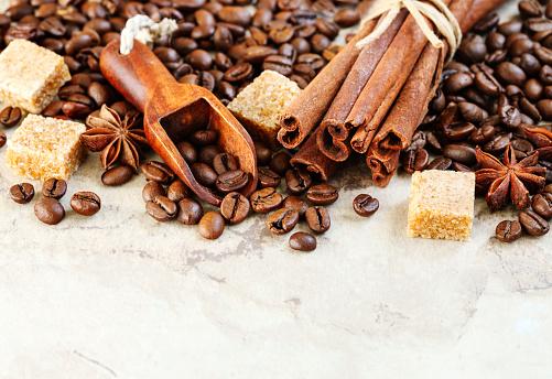 Star Anise「Roasted coffee beans, brown sugar, cinnamon sticks and star anise」:スマホ壁紙(19)